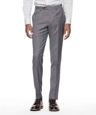 Todd Snyder Black Label Sutton Suit Pant in Italian Charcoal Glen Plaid Tropical Wool