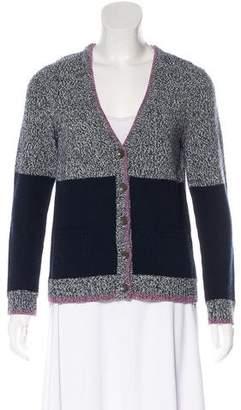Rag & Bone Colorblock Wool Cardigan
