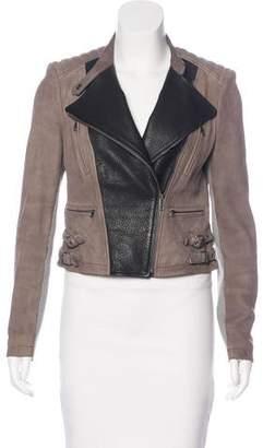 Yigal Azrouel Leather Biker Jacket