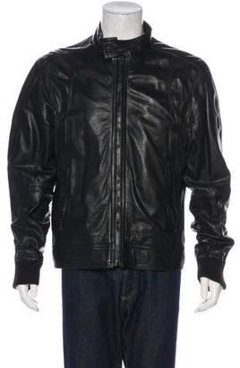 Dolce & Gabbana Zip-Accented Lambskin Jacket