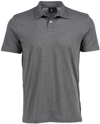 Volcom Men's Wowzer Polo Shirt, Dark Grey, XS