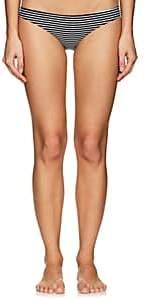 Mikoh Women's Zuma Striped Bikini Bottom - Classic Stripe Clcstr