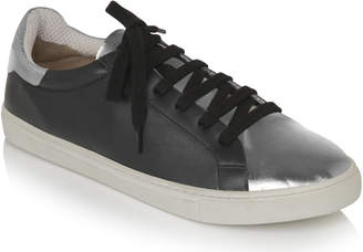 Black And White And Grey Shoes Leather - ShopStyle UK 42a30c819