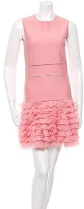 Alexander McQueen Knit Mini Dress w/ Tags