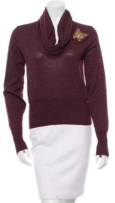 Chloé Wool Embellished Sweater