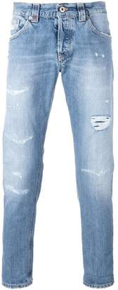 Dondup shredded trim jeans