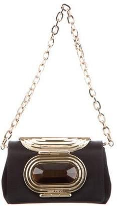 Jimmy Choo Satin Mini Shoulder Bag