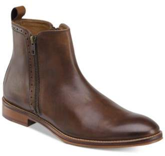 Johnston & Murphy Men's Conard Double Zip Boots