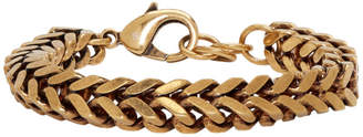 Balenciaga Gold Chain Set Bracelet