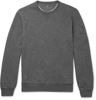 Brunello Cucinelli Cotton-Jersey Sweatshirt