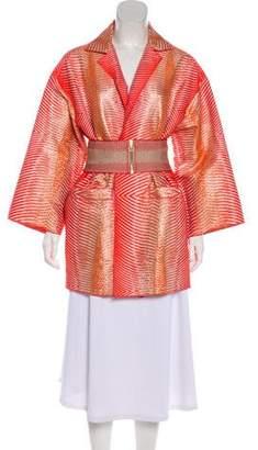 Missoni Metallic Belted Jacket