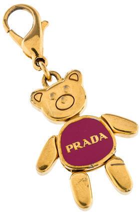 pradaPrada Bear Bag Charm