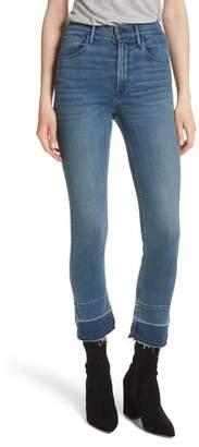 3x1 NYC W4 Abigail Released Split Hem Ankle Skinny Jeans