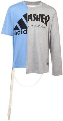 Puma Maison Yasuhiro mesh brand T-shirt