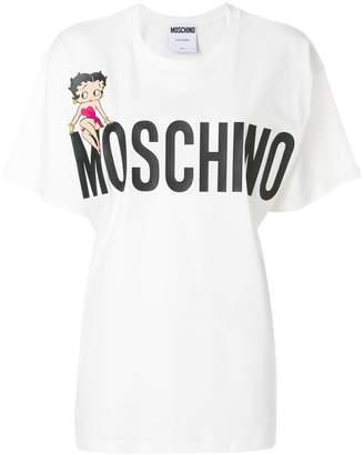 Moschino Betty Boop logo T-shirt