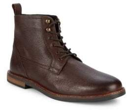 Ben Sherman Brent Pebbled Leather Ankle Boots