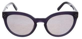 Chloé Cat-Eye Mirrored Sunglasses