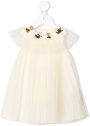 Gucci Kids embroidered floral dress