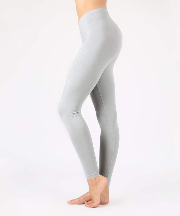Gray Mist Full-Length Leggings - Women