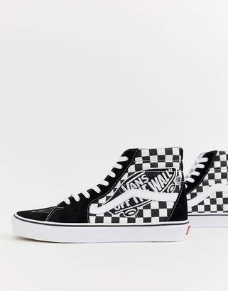 a220acffcdcc Vans SK8-Hi trainers with OTW patch in black VN0A38GEUPV1