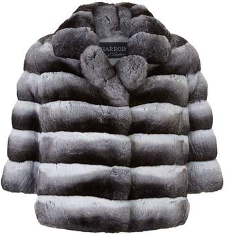 Harrods Dorothea Chinchilla Fur Jacket
