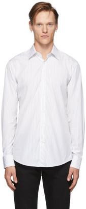Tiger of Sweden White Striped Farrell Shirt