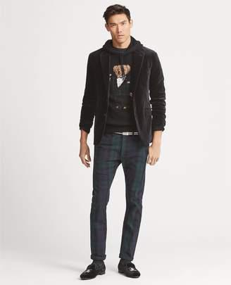 Ralph Lauren Morgan Velvet Suit Jacket