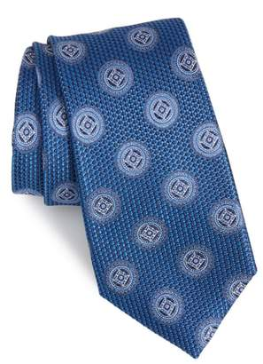 Nordstrom Romano Medallion Silk Tie