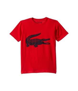 Lacoste Kids Sport Croc Graphic Tee (Little Kids/Big Kids)