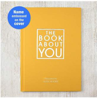 Very PERSONALISED THE BOOK ABOUT YOU hardback