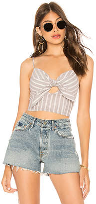 Blue Life Mila Tie Front Top