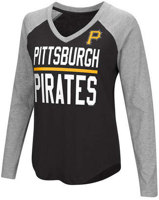 G-iii Sports Women's Pittsburgh Pirates Power Hitter Raglan T-Shirt
