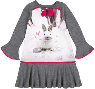 Deux Par Deux Snow Bunny Dress
