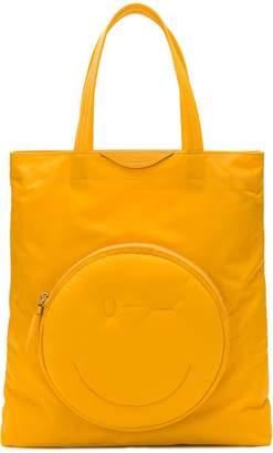 Anya Hindmarch wink chubby tote bag