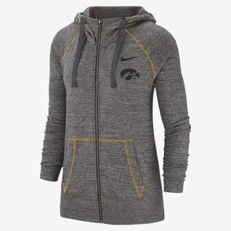 Nike Women's Full-Zip Hoodie College Gym Vintage (Iowa)