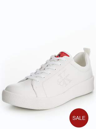 Calvin Klein Gerald Cupsole Leather Trainer