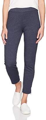 Three Dots Women's Brushed Italian Loose Long Pants