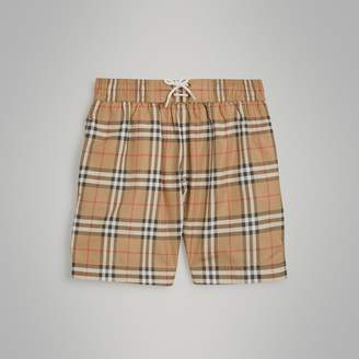 Burberry Vintage Check Swim Shorts , Size: 6Y