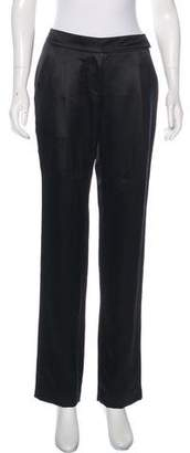 Magaschoni Silk Mid-Rise Pants