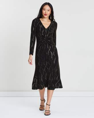 Wallis Sparkle Midi Dress