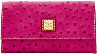 Dooney & Bourke Ostrich Framed Credit Card Wallet