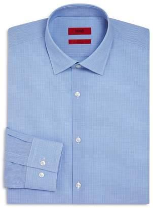 HUGO C-Jenno Tonal Micro Check Slim Fit Dress Shirt