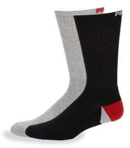 Puma Six-Pack Logo Crew Socks