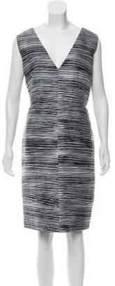 Calvin Klein Collection Printed Knee-Length Dress