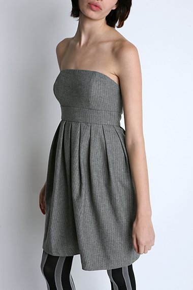 Silence & Noise Wool Tube Dress