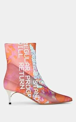 Maison Margiela Women's Mismatched Leather Ankle Boots