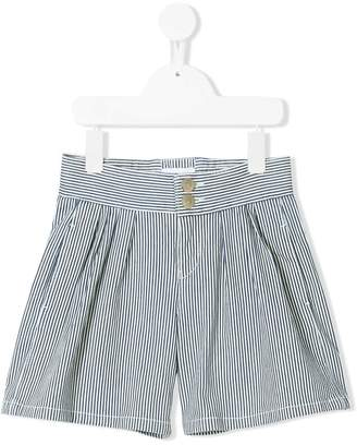 Chloé Kids striped shorts