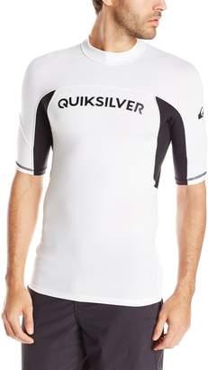 Quiksilver Men's Performer Short Sleeve Rash Guard
