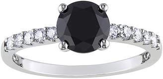 Black Diamond MODERN BRIDE Midnight 1 1/4 CT. T.W. White & Color-Enhanced Engagement Ring