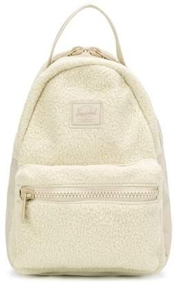 Herschel faux-shearling Nova backpack